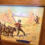 1940's Cowboy Bar art