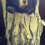 Carved bears