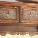 Copper art shelf