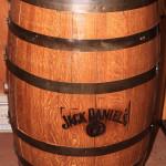 JD Whiskey Barrel