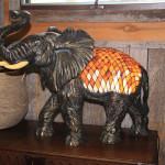 Tiffany Elephant Light