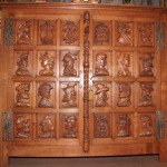 Gothic Knights Cabinet