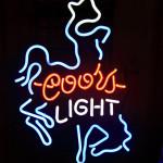 Coors Neon light